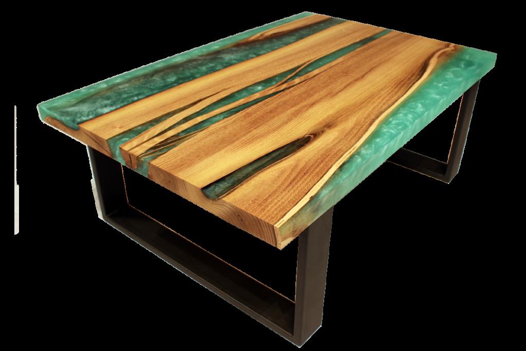 stolek epoxidová pryskyřice seashore